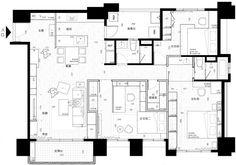 插畫家的彩繪宅!台北 38 坪現代法式公寓 - DECOmyplace 新聞