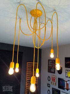 Luminária Pendente Homens da Casa