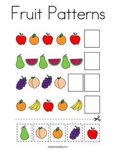 Preschool Learning Activities, Free Preschool, Toddler Learning, Preschool Classroom, Preschool Worksheets, Preschool Activities, Kindergarten, Pattern Worksheet, Preschool Coloring Pages