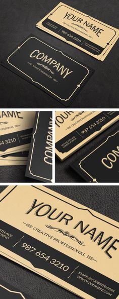 Yukon - Business Card by Macrochromatic, via Behance