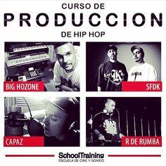En noviembre empezamos otra edición del curso de producción grabación mezcla y mastering en @school_training. Con la colaboración de SFDK Capaz y R de Rumba. Toda la info en http://ift.tt/1KPQwNw o desde mi web www.BigHozone.com (link en la bio). #curso #grabacion #mezcla #mastering #masterizacion #produccion #beatmaking #schooltraining #showtimeestudio #bighozone #sfdk #rderumba #capaz #rap #hiphop #musicaurbana #musica #malaga