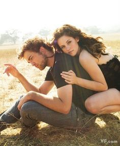 Twilight photographic session - Vanity Fair