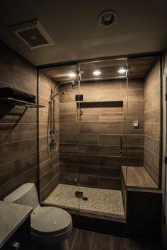 Washroom Design, Bathroom Design Luxury, Bathroom Layout, Modern Bathroom Design, Small Bathroom Interior, Rustic Bathroom Designs, Basement Bathroom, Contemporary Bathrooms, Bathroom Design Inspiration