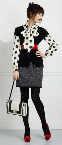 Fashion Designer Kate Spade Business Office Dress Clothes Professional Attire