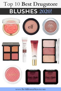 These are the top drugstore blushes to buy in Looking for a new blush at the drugstore? These are awesome options for all faces & preferences! Milani Rose Powder Blush, Blush Dupes, Best Drugstore Blush, Drugstore Makeup Dupes, Drugstore Highlighter, Colors For Skin Tone, Lip Colors, Best Drug Store Highlighter, Sleek Makeup