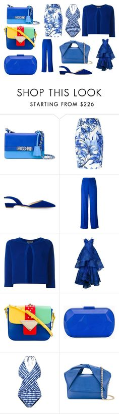 """""""my best collection"""" by monica022 ❤ liked on Polyvore featuring Moschino, Versace, Paul Andrew, Maison Margiela, Boutique Moschino, Nedret Taciroglu Couture, Sara Battaglia, Corto Moltedo, Tory Burch and J.W. Anderson"""