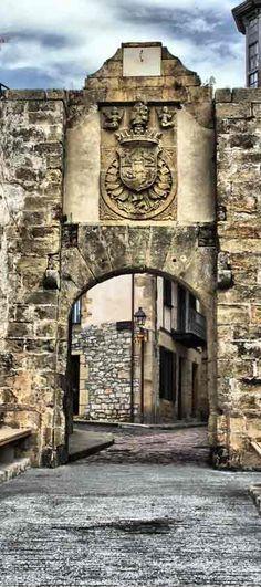 St. Mary Gate Hondarrabia, Guipúzcoa, Spain