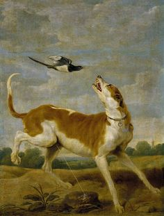 Paul de Vos, El perro y la picaza, XVII. Museo Nacional del Prado: Galería online