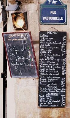 rue Pastourelle - Paris 3ème