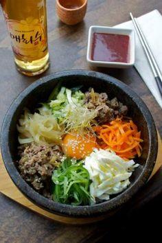 Gangnam's charcoal barbecue wagyu beef.