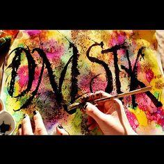 #lettering #letters #arte #watercolor #art #ink #rulingpen #color #texture #colapen #calligraphy #sudandolagotanegra🖋 #manicure #kunst #искуство #каллиграфия