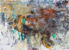 Anna Retulainen: Lion Attacking a Horse, Kuva Jussi Tiainen. Lion, Anna, Paintings, Horses, Finland, Artists, Leo, Paint, Painting Art