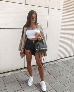 Fashion 2019 New Moda Style - fashion Classy Outfits For Teens, Cute Summer Outfits, Short Outfits, Spring Outfits, Cute Outfits, Vegas Outfits, Party Outfits, Night Outfits, Look Con Short