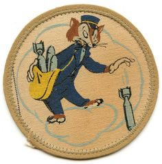 vintage bomb comics | ... WWII US 314th Bomb Squadron (BS), 21st Bomb Group (BG), 3rd AF Patch