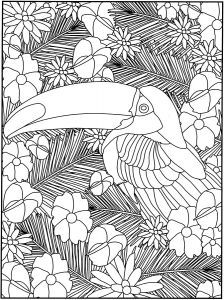 Welcome To Dover Publications Creative Haven Garden Party Stained Glass Coloring Book
