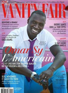 FAB Cover: French Actor Omar Sy For Vanity Fair France June 2014 Issue