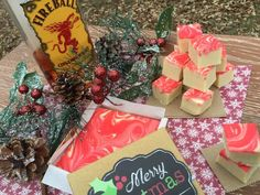 Move over pigs in a blanket! Fireball Fudge has arrived and its here to party! It's that time of year again. Christmas parties galore, which only means one thi