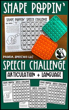 Speech therapy toy companion for the popular fidget bubble popper toys. Articulation and language no prep worksheets. Speech Therapy Themes, Speech Pathology, Speech Language Pathology, Speech And Language, Articulation Therapy, Articulation Activities, Speech Therapy Activities, Language Activities, Bubble Popper