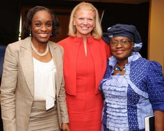 IBM CEO GINNI ROMETTY MEETS WITH GOVERNMENT OFFICIALS IN NIGERIA
