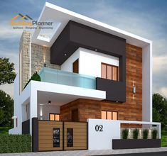 Design elevation Modern House Design Ideas For 2020 Modern Exterior House Designs, Modern Small House Design, Modern House Facades, Modern Bungalow Exterior, Modern Villa Design, 3 Storey House Design, Duplex House Design, House Front Design, Architect Design House