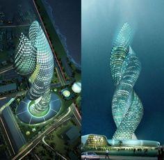 Kobra Towers in Kuwait