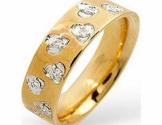 Ampalian Jewellery 18 Carat Gold Diamond Ring (197) A romantic 18 carat gold ring lovingly set with brilliant cut diamonds http://www.comparestoreprices.co.uk/gold-jewellery/ampalian-jewellery-18-carat-gold-diamond-ring-197-.asp