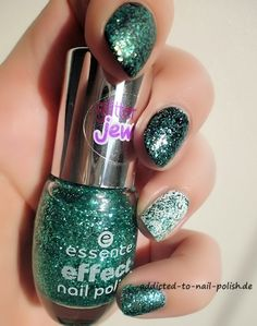 party in a bottle essence effect nail polish glitter jewels party in a bottle