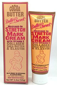 Butter Sweet Stretch Mark Cream 44 oz Pack of 6 * You can get more details by clicking on the image. (This is an affiliate link) #MaternitySkinCare