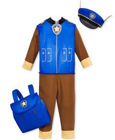 PAW Patrol Toddler Boys' Chase Costume Set - Toys & Games - Kids & Baby - Macy's
