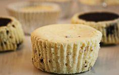 Mini Oreo Cheesecakes use a whole oreo for each mini crust - SO easy and SO good!!