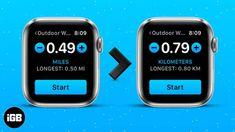 أخبار الهواتف الذكية و أحدث الموبايلات و التطبيقات   فري موبايل زون بالنسبة للعدائين والركضين العاديين ، يعد قياس المسافة أمرًا بالغ الأهمية لأنه يتناسب بشكل مباشر مع السعرات الحرارية التي يفقدونها كل يوم. لكن لا يحب الجميع قياس المسافة بالأميال. علاوة على ذلك ، تقيس Apple Watch المسافة بالأميال افتراضيًا. لذلك ، تحتاج إلى تغيير الأميال إلى الكيلومترات على Apple Watch. دعنا نتعلم كيف! ملاحظة: إذا [...] كيفية تغيير وحدات المسافة على Apple Watch و iPhone