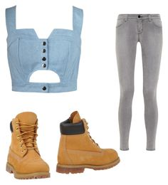 Jeans by sadsmith on Polyvore featuring polyvore fashion style Chicnova Fashion J Brand Timberland clothing