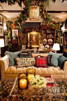 In honor of National Tartan Day, Masculine Interiors talks to designer Scot Meacham Wood, a Ralph Lauren alum known for his liberal use of tartan. * * * MI: In the early days of the site we did a p…