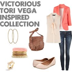 """""""Victorious Tori Vega Inspired Collection"""" by animalsc on Polyvore    Outfit Created by Me"""