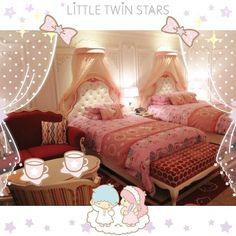 Hello Kitty Rooms, Toddler Bed, Furniture, Home Decor, Child Bed, Decoration Home, Room Decor, Home Furnishings, Home Interior Design