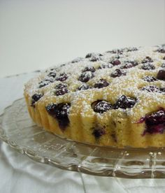 BLUEBERRY RICOTTA BREAKFAST CAKE   -   1 ½ cups all-purpose flour, spooned and leveled  1 ½ tsp. baking powder  ½ tsp. coarse salt  3 large eggs  ½ cup granulated sugar  ¾ cup ricotta  ¼ cup melted unsalted butter  ¼ cup milk  1 cup fresh blueberries