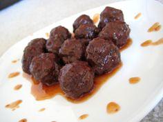 Spicy Meatballs Recipe - 1 Point Value - LaaLoosh