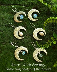 Collection of witches crescent moons #witch #witchery #witchjewellery #witchstyle #wiccan #wicca #wiccanjewellery #wiccanearrings #hedgewitch #whitewitch #darkwitch #blackwitch #darkmori #crescent #moon #moonstone #crescentmoon #silverearrings #shternwitchearrings #witch_adventures #inspiration  #handmade #mystic #celtic #gothic #victorian #victorianpicknic #wood #aesthetic #wild #wildsoul #soul #goodvibrations #vibrations #woman #ideas #wolfwoman #runnindwithwolfs #yoga #healingcrystals…