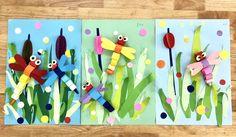 Art Lessons For Kids Art Lessons Elementary Art For Kids Primary School Art Art School Paper Art Projects Preschool Art Activities Spring Crafts For Kids Spring Art Kindergarten Art, Craft Activities For Kids, Preschool Crafts, Fun Crafts, Crafts For Kids, Paper Crafts, Paper Art, Spring Arts And Crafts, Summer Crafts