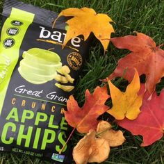 """Light breeze, colorful leaves, bare trees, it must be autumn."" #fallforbare #applechips #snacksgonesimple #instaquote #quote #autumn #baresnackattack #bakedneverfried #nonGMO #nationalapplemonth #nofilterneeded #barebeauty #barenature"