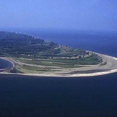 Presque Isle State Park, Pennsylvania; coastalliving.com