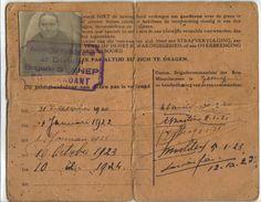 paspoort eerste wereldoorlog - Google zoeken