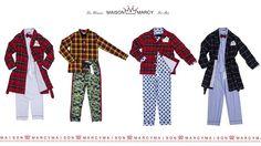 THE cadeau pour passer le réveillon le pyjama #maisonmarcy.  For him / for her.