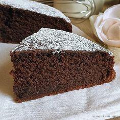 TORTA SOFFICE AL CACAO SENZA UOVA ricetta facile | Cucinare è come amare Healthy Cake, Healthy Dessert Recipes, Healthy Baking, Cake Recipes, Vegan Recipes, Cooking Recipes, Desserts, Nutella, Tortillas Veganas