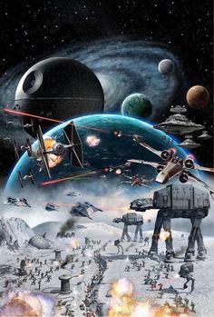 Oil Painting HD Print On Canvas Wall Art deco,star wars 12x18inch NO framed #ArtDeco Star Wars Poster, Star Wars Cute, Star Wars Zeichnungen, Grand Moff Tarkin, Mundo Nerd, Nave Star Wars, Cuadros Star Wars, Bd Comics, The Force Is Strong