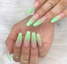 Perfect and Nice Nail Trends You're Going To Try… – Long Acrylic Nails Summer Acrylic Nails, Best Acrylic Nails, Acrylic Nail Designs, Summer Nails, Perfect Nails, Gorgeous Nails, Fabulous Nails, Nagellack Trends, Fire Nails