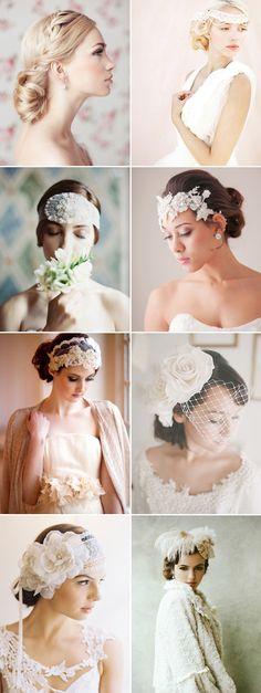 17 Winter Bridal Hair Ideas