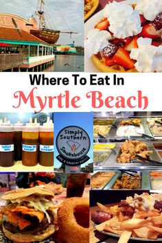 Where To Eat In Myrtle Beach #ad