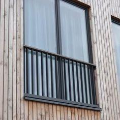 Balcony Window, Iron Balcony, Balcony Railing, Dormer Windows, Windows And Doors, Loft Conversion Doors, Juliette Balcony, French Balcony, Modern Windows