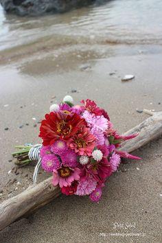 ピンククラッチブーケ pink clutch bouquet